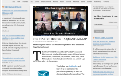 Safedeploy wins 3rd at The Los Angeles Tribune QUANTUM LEAP Summit